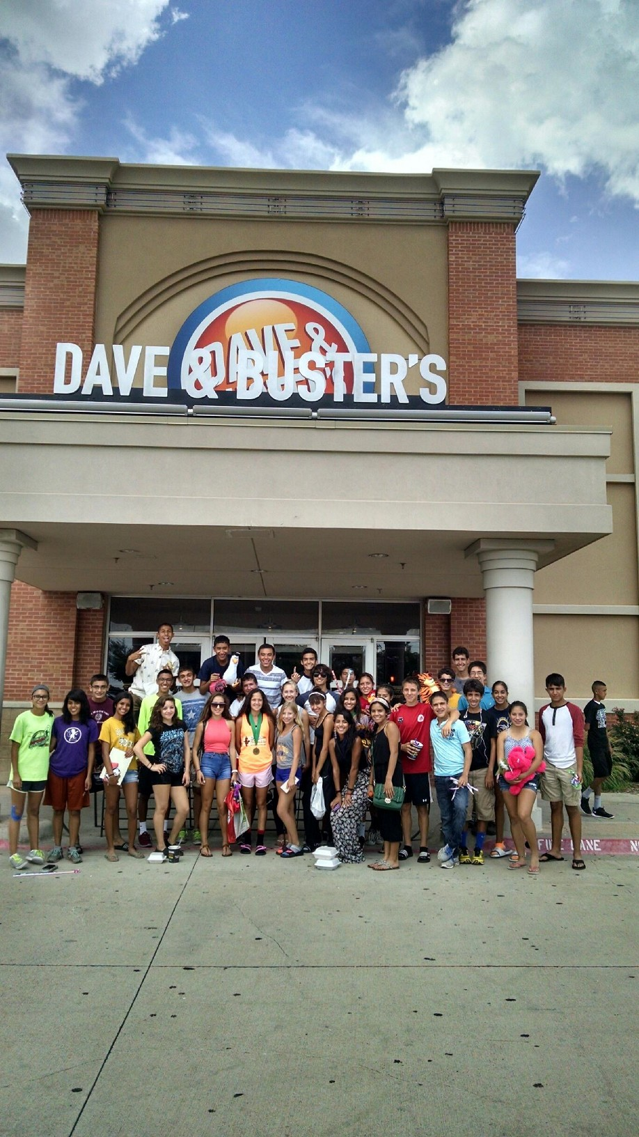 Eastwood at Dave and Busters